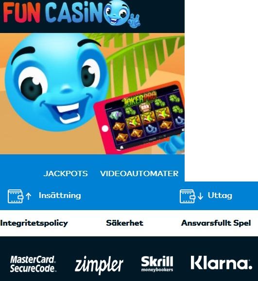 Fördelarna med casino på faktura hos Fun Casino!